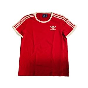 ADIDAS SATIN BACK T-SHIRT